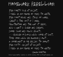 Homework Rebellion by Dawna Morton