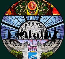 LOTR - Stained Glass by ohitsmagic