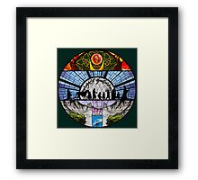 Lord of the Rings - Stained Glass Framed Print