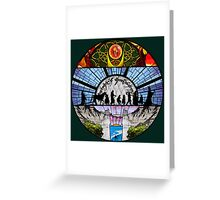 Lord of the Rings - Stained Glass Greeting Card