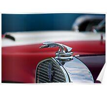 Chevrolet Red White Blue Poster