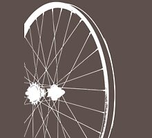 Bike RIM ~ White Silhouette T-Shirt