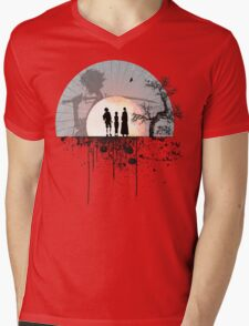 Samurai Champloo - Sunset Mens V-Neck T-Shirt