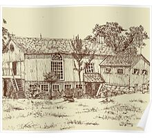 Restored Barn Home Poster