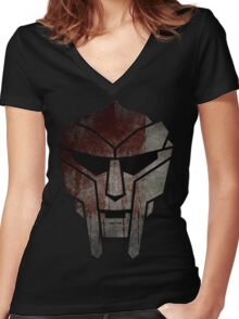Doomcepticon Women's Fitted V-Neck T-Shirt