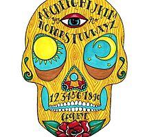 Ouija Sugar Skull by coracrow