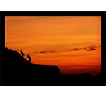Climb for Life Photographic Print