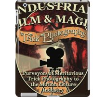 Industrial Film and Magic iPad Case/Skin