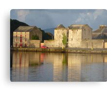 Sunlight Over The Quay. Metal Print