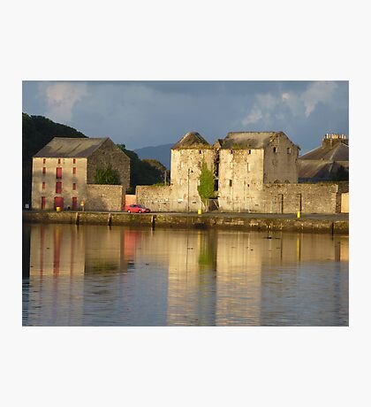 Sunlight Over The Quay. Photographic Print