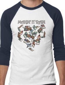 Makin' It Rain Cards Men's Baseball ¾ T-Shirt