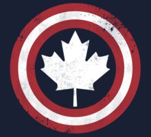 Captain Canada (White Leaf) T-Shirt