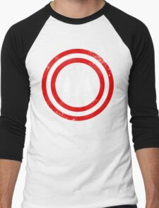 Captain Canada (White Leaf) Men's Baseball ¾ T-Shirt
