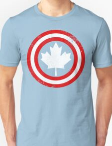 Captain Canada (White Leaf) Unisex T-Shirt