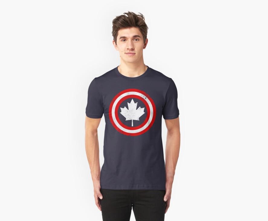 Captain Canada (White Leaf) by trekvix
