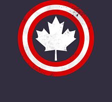 Captain Canada (White Leaf) Unisex T-Shirt