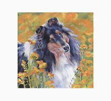 Collie Fine Art Painting Unisex T-Shirt