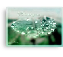 Absolute green Canvas Print