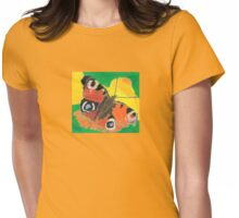 Mothtastic Womens Fitted T-Shirt