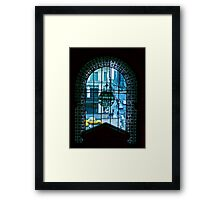 New York City through a looking glass Framed Print