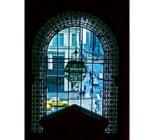 New York City through a looking glass Photographic Print