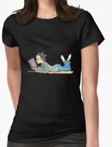 Bookaholic Womens Fitted T-Shirt