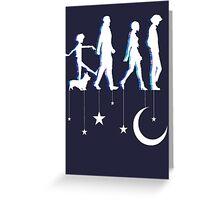 Cowboy Bebop Moonwalk Greeting Card
