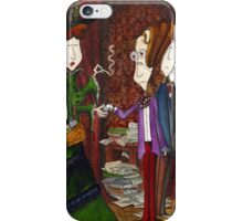 Yeats meets Maud Gonne for the first time iPhone Case/Skin