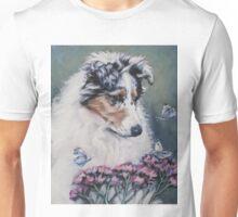 Collie Fine Art Painting Unisex T-Shirt
