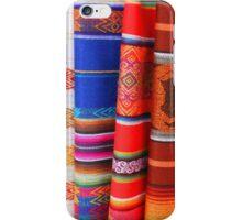 Ecuadorian Blankets iPhone Case/Skin