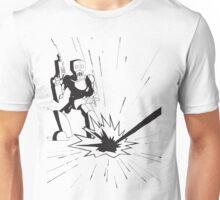 Robot Illustration Unisex T-Shirt