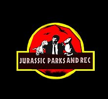 jurassic parks and rec by kurticide