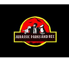 jurassic parks and rec Photographic Print