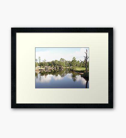 SUMMER ON BURNT MILL CREEK Framed Print