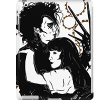 Edward Scissorhands and Kim iPad Case/Skin