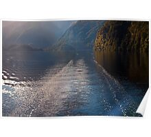 Mid Morning on Doubtful Sound Poster