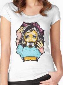 Dolly's Doll t-shirt Women's Fitted Scoop T-Shirt