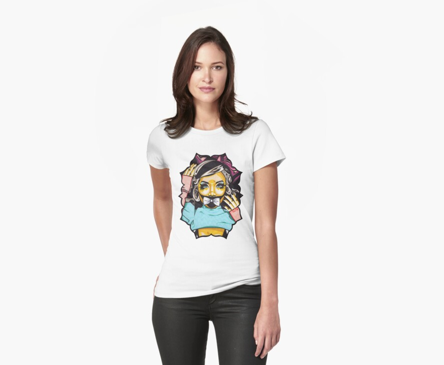 Dolly's Doll t-shirt by Angelique  Moselle