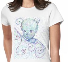 Alien Fairy Womens Fitted T-Shirt