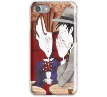 Joyce tells Yeats what he's doing wrong iPhone Case/Skin