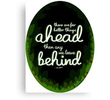 Better Things Ahead Canvas Print