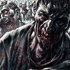 Zombie Horde by Chris Wahl