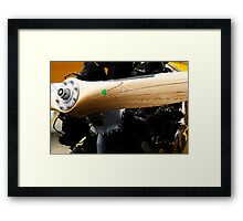 Wooden Propellor and Radial Motor Framed Print