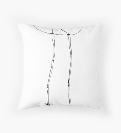 eggstricate Throw Pillow
