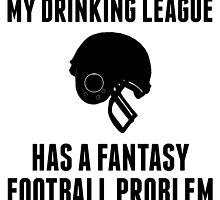 Drinking League Fantasy Football by GiftIdea