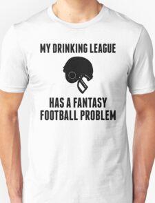 Drinking League Fantasy Football T-Shirt