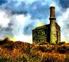 Beautiful Britain - Cornish Tin Mine by Dennis Melling