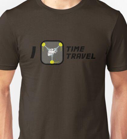 I Love Time Travel Unisex T-Shirt