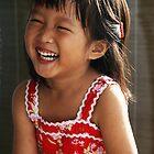 Joyful Girl by Steven  Siow