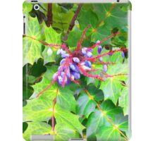 Beauty and the Beast - Leatherleaf Mahonia iPad Case/Skin